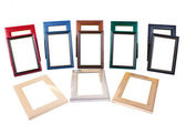 Picture frames collection — Stock Photo