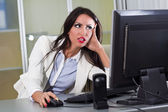 Frustrating Work — Stock Photo