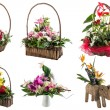 Flower arrangements — Stock Photo