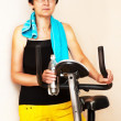 Stock Photo: Adult fitness woman