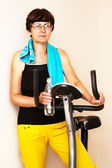 Adult fitness woman — Stock Photo