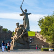 Stock Photo: World War II Memorial in Volgograd Russia