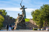 World War II Memorial in Volgograd Russia — Stock Photo
