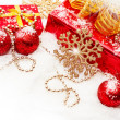 Christmas gifts and decorations — Stock Photo #14620941