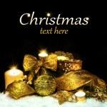 Christmas Decorations background — Stock Photo #14914861