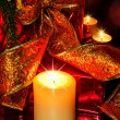 Night Christmas Decorations background — Stock Photo #14954111