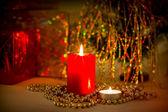 Jul kväll bakgrund — Stockfoto