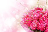 Konstdesign med rosor — Stockfoto