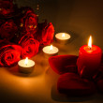 Romantic background — Stock Photo