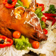 Roast suckling pig — Stock Photo