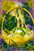 Defocus colorfull easter background.  — Stock Photo