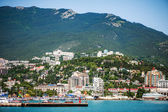 Embankment of Yalta, Russia, Crimea  — 图库照片