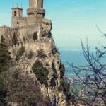 Rocca della Guaita fortress in San Marino — Stock Photo #50152117