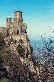 Rocca della Guaita fortress in San Marino  — Stockfoto
