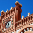 Detail of Roof on train station in Aranjuez, Spain — Stock Photo