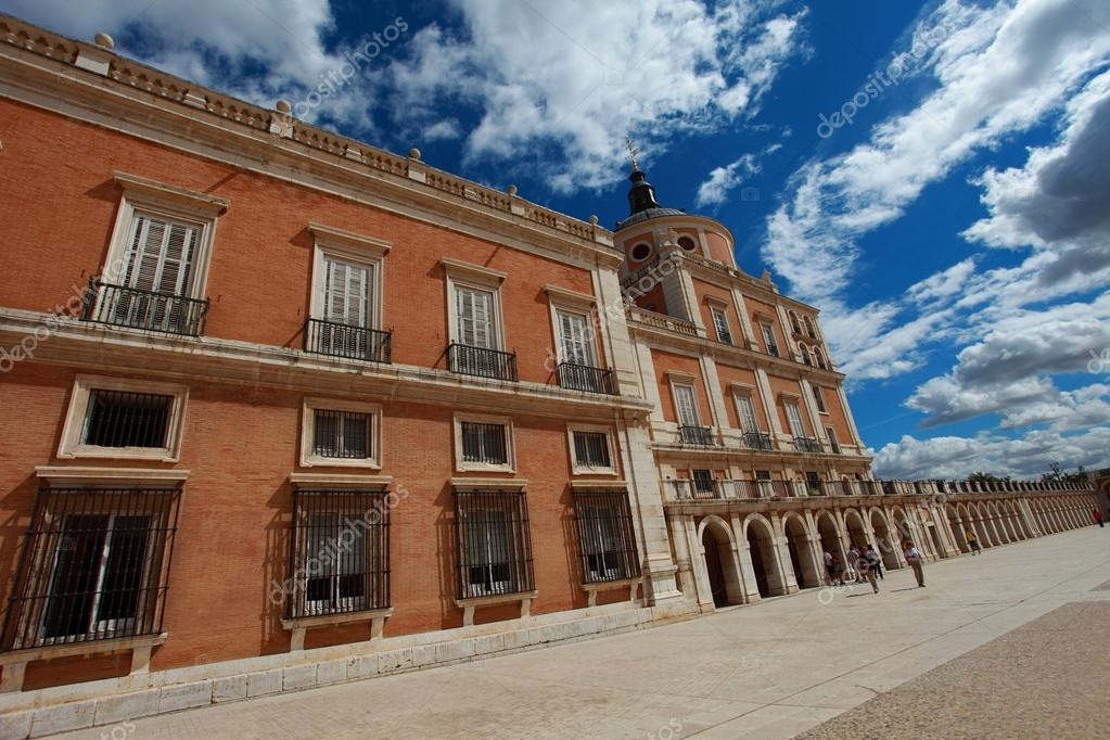 The Royal Palace of Aranjuez. Madrid (Spain)   Stock Photo #12235917