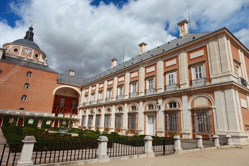 The Royal Palace of Aranjuez. Madrid (Spain)  — Stock Photo #12235925
