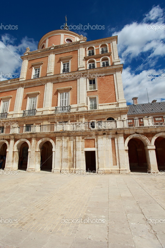 The Royal Palace of Aranjuez. Madrid (Spain)  — Stock Photo #12235926