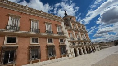 The Royal Palace of Aranjuez (Spain) — Стоковое видео