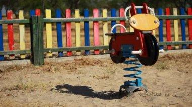 Empty playground. — Stock Video