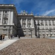 Royal Palace at Madrid Spain — Stok video