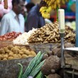Various fruits at local market in India — Foto de Stock