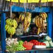 Various fruits at local market in India - Stockfoto