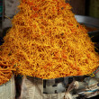 Noodles in traditional market in India. — 图库照片