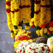 Flower Garlands for Hindu Religious Ceremony — Stock Photo #14450111