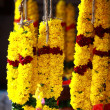 Flower Garlands for Hindu Religious Ceremony — Stock Photo #14450129