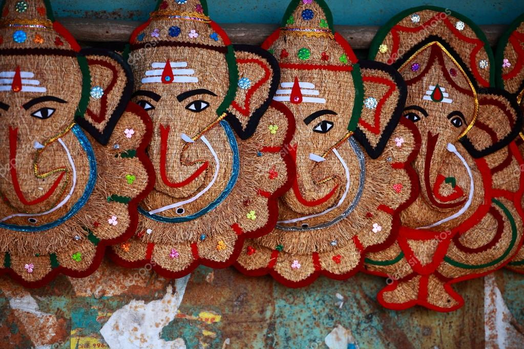 Traditional India souvenirs  — Stock Photo #14451419