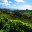 Scenic view of hilly country of Tenerife, Canary Islands — Stock Photo