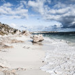 Scenic view over one of the beaches of Rottnest island — Stock Photo #18301027