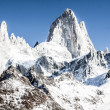 Beautiful nature landscape with Mt. Fitz Roy as seen in Los Glaciares National Park, Patagonia, Argentina — Stockfoto