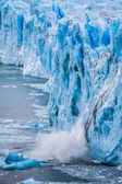 View of the magnificent Perito Moreno glacier, patagonia, Argentina. — Stok fotoğraf