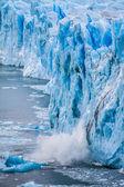 Vue sur le glacier magnifique perito moreno, patagonie, argentine. — Photo