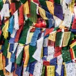Buddist prayer flags — Stock Photo