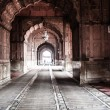 Jama Masjid Mosque, old Delhi, India. - ストック写真