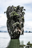Exotic Tapu island — Stock Photo