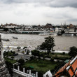 View in bangkok city at chao phayriver — Stockfoto #18361107