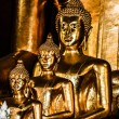 Golden Buddhin Thailand — Stock Photo #18361327