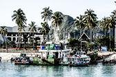 тропический пейзаж. остров пхи пхи, таиланд. — Стоковое фото