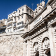 The Victoria gate, one of the entrances to Valletta, capital of Malta — Stockfoto