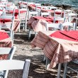 Stock Photo: Restaurant near the sea in Mykonos, Greece.