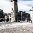 Palazzo del Podesta in old town, Bergamo, Italy — Stock Photo