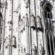Milan Cathedral (Duomo di Milano) is the gothic cathedral church of Milan, Italy. — Stock Photo #18488939