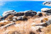 Azuurblauwe kust van griekenland, zakynthos eiland — Stockfoto