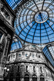 Vittorio Emanuele Gallery - Milan — Stock Photo