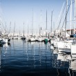 Picturesque colorful yacht port in old center of Marseilles, France — Stock Photo #18524039