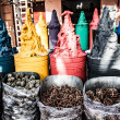 Spices shop in the medina of Marrakech, Morocco — Stock Photo